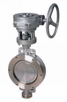 Triple eccentric butterfly valve-Metal seat